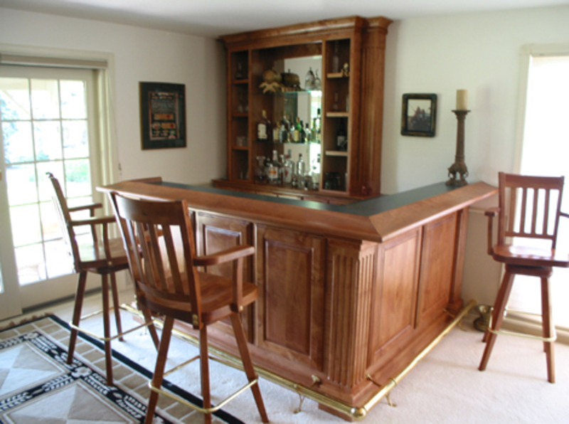 Custom Bars | Tree City Woodworking | Custom Cabinetry and Furniture